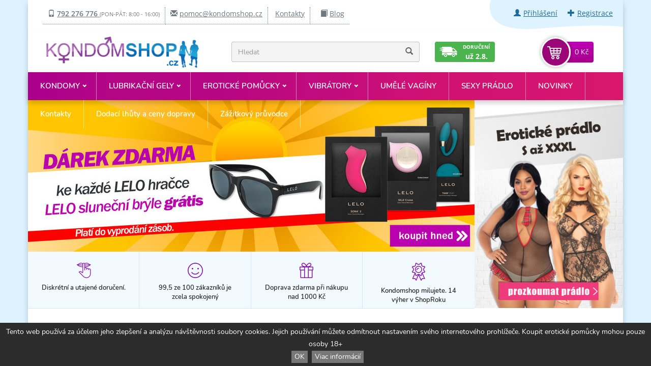 Screenshot of Kondomshop.cz